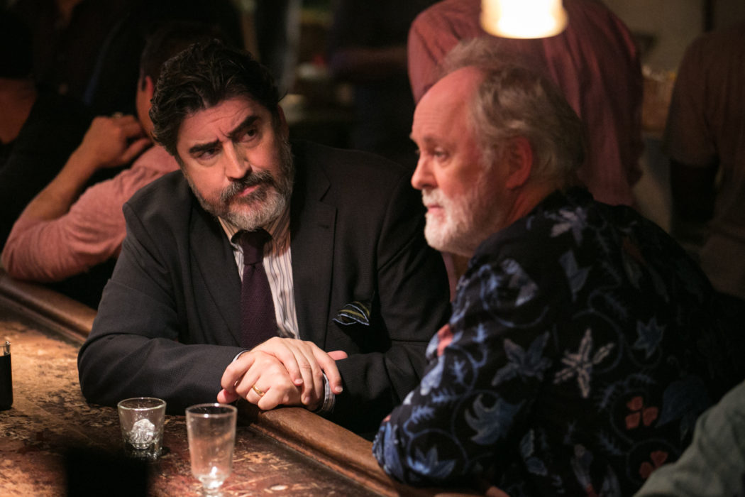 Lithgow and Molina: seasoned and subtle actors -