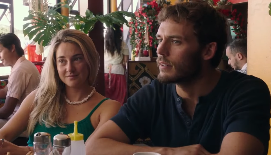 Shailene Woodley and Sam Claflin