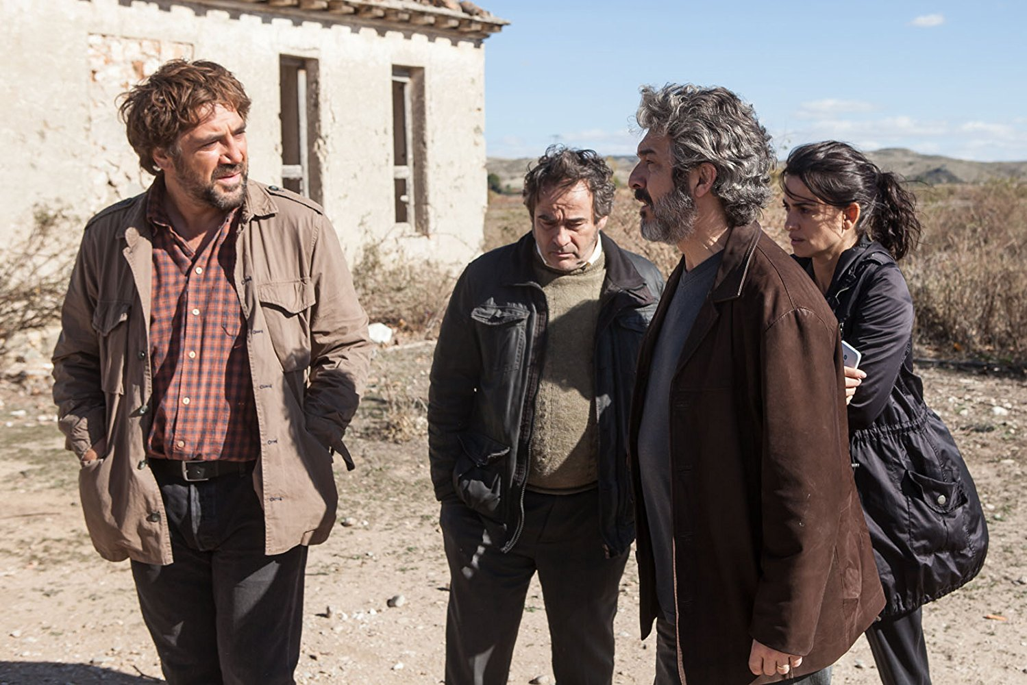 Javier Bardem, Eduard Fernández, Ricardo Darín and Penélope Cruz