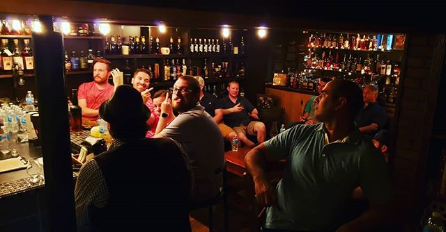 Our meeting from 6/6....great times! If you're from the Chicagoland area and want to join, reach out because we have spots open for our meeting on July 11th 😎🥃🔥 . . . #bourbon #bourbonwhiskey #bourbongram #bourbonlover #bourbonclub #whiskey #whiskeylover #whiskeygram #whiskeyporn #bourbonporn #whisky #rye #ryewhiskey #dram #whiskeyclub #bourbonsociety #cigar #cigars #cigarsandwhiskey #beer #life #chicago #illinois #chicagosuburbs #chicagoland #theadventuresclubbourbonsociety #bourbonmeeting #bourbonvegas #friends #meeting