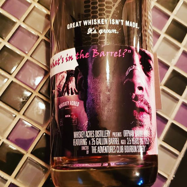 """Our private pick """"What's in the barrel"""" of @whiskeyacres just come in. It was their last barrel of their original rye recipe. You won't find any of these in a store. Only in members collections and at the society. At 125 proof you can crush this bottle. Kinda scary! Cheers! . . . #bourbon #bourbonwhiskey #bourbongram #bourbonlover #bourbonclub #whiskey #whiskeylover #whiskeygram #whiskeyporn #bourbonporn #whisky #rye #ryewhiskey #dram #whiskeyclub #bourbonsociety #cigar #cigars #cigarsandwhiskey #beer #life #chicago #illinois #chicagosuburbs #chicagoland #theadventuresclubbourbonsociety #whiskeyacres #whatsinthebarrel #se7en #privatebarrel"""