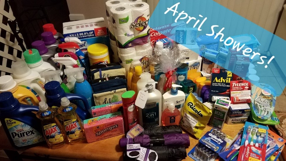Family Promise of Hunterdon County - The overwhelming response to our April Showers mission for Family Promise has been gratefully accepted, with heartfelt thanks to our congregation.