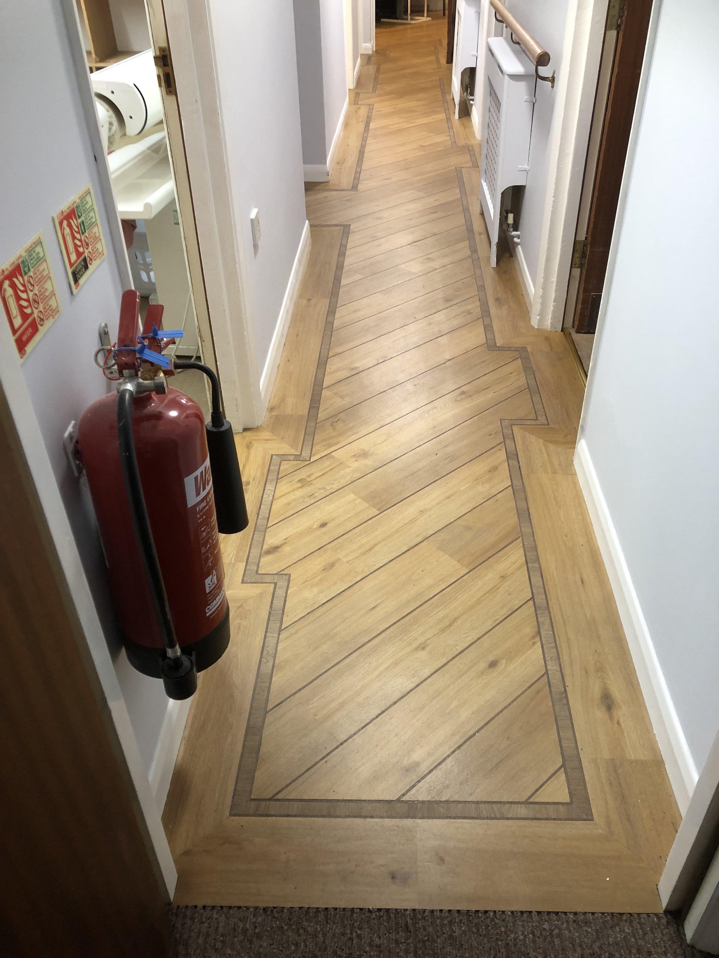 Nursing Home hallway