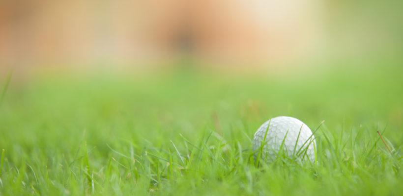 Golf Ball near Hole Location