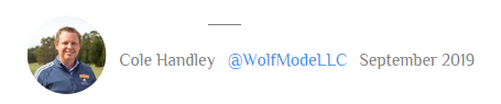 Author Cole Handley Wolf Mode Marketing .PNG