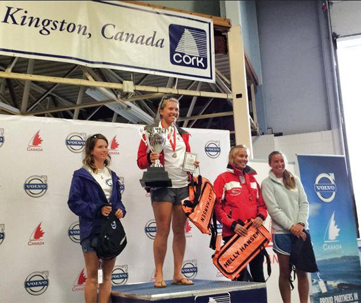 Sail Canada Laser Youth Campion 2014