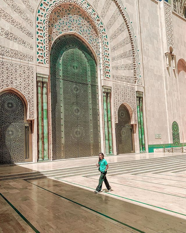 Impressive down to the smallest details🕌 . . . . . . . #mosquesofworld #casablanca_ig #hassaniimosque