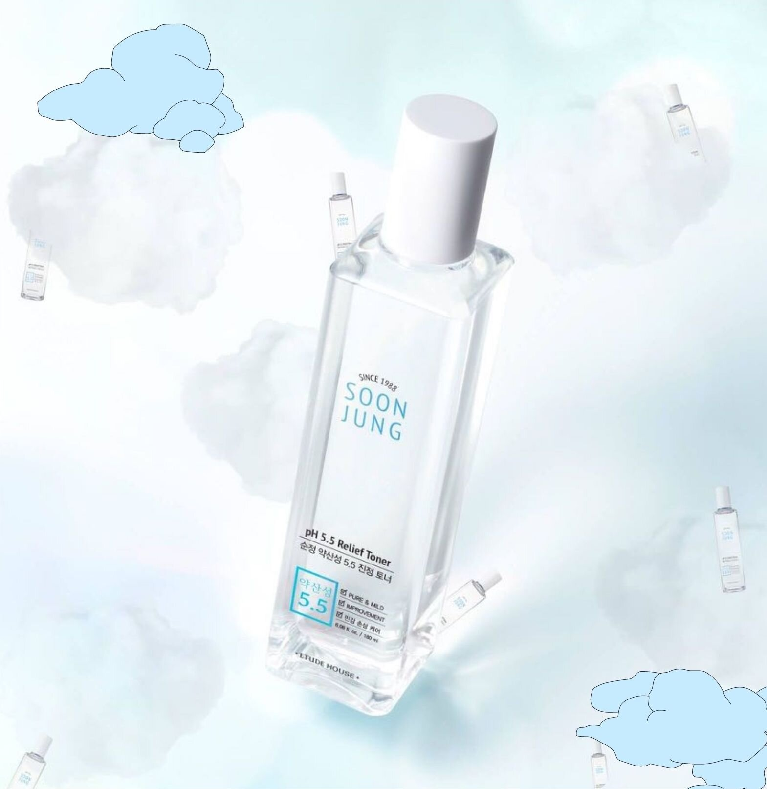 [REVIEW] Etude House Soon Jung pH 5.5 Relief Toner (Before and After)