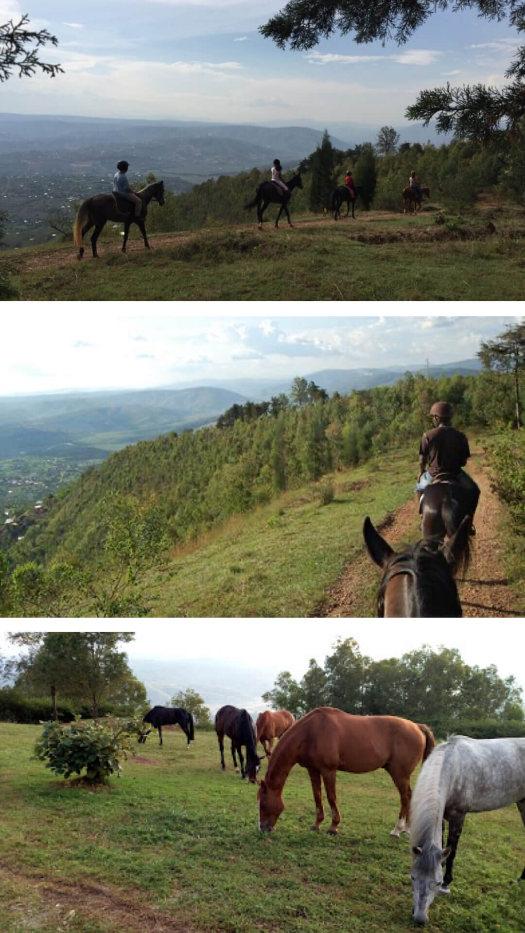 5.Ride a horse on Mt. Kigali