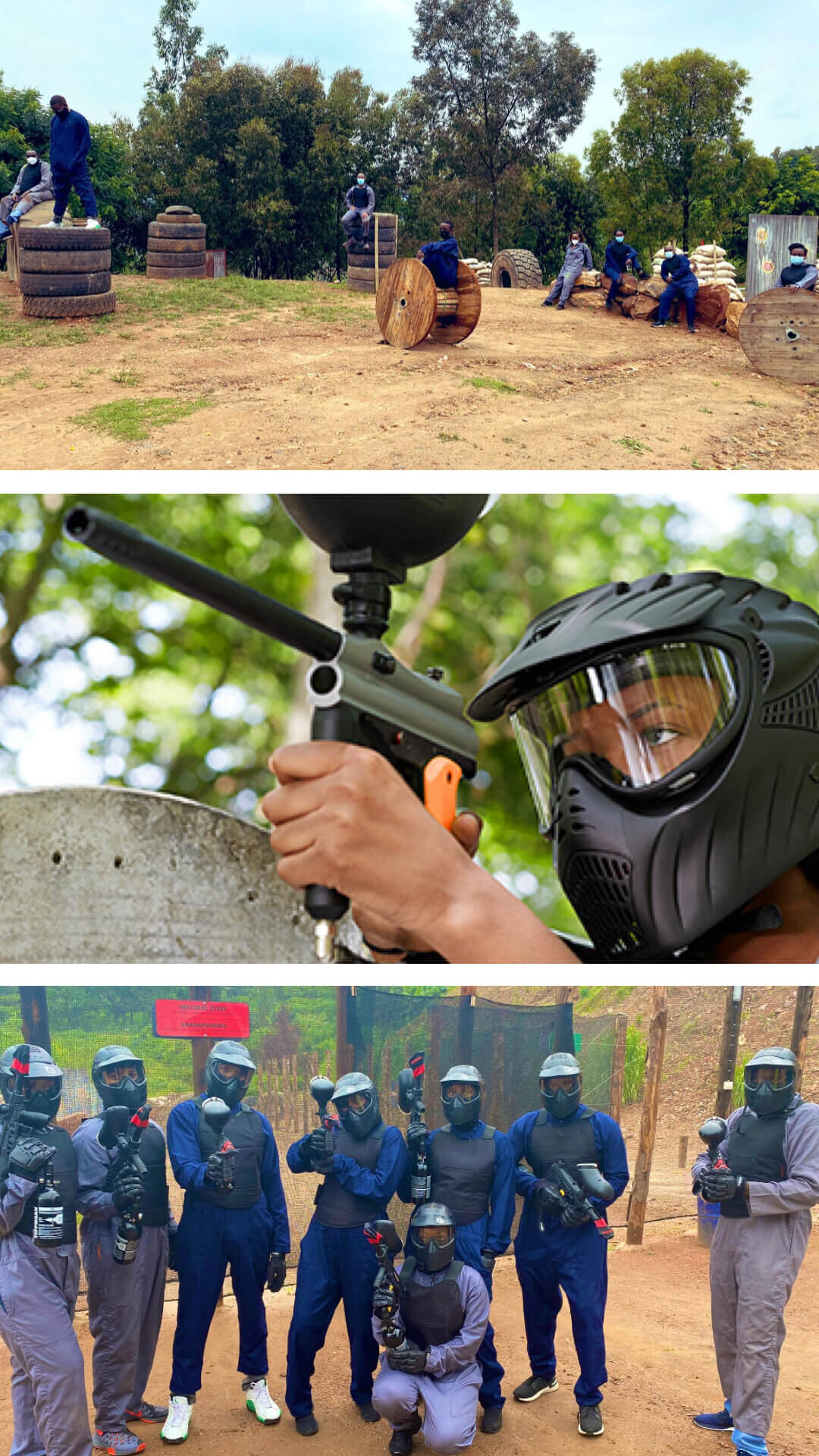 9.paintball away the adrenaline at mt.kigali