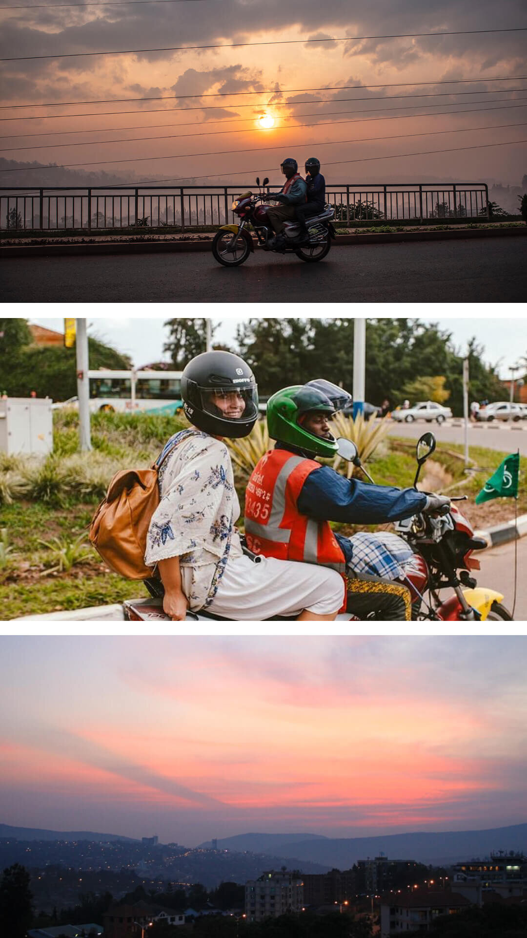21.Take a Motorcycle ride over the hills of kigali