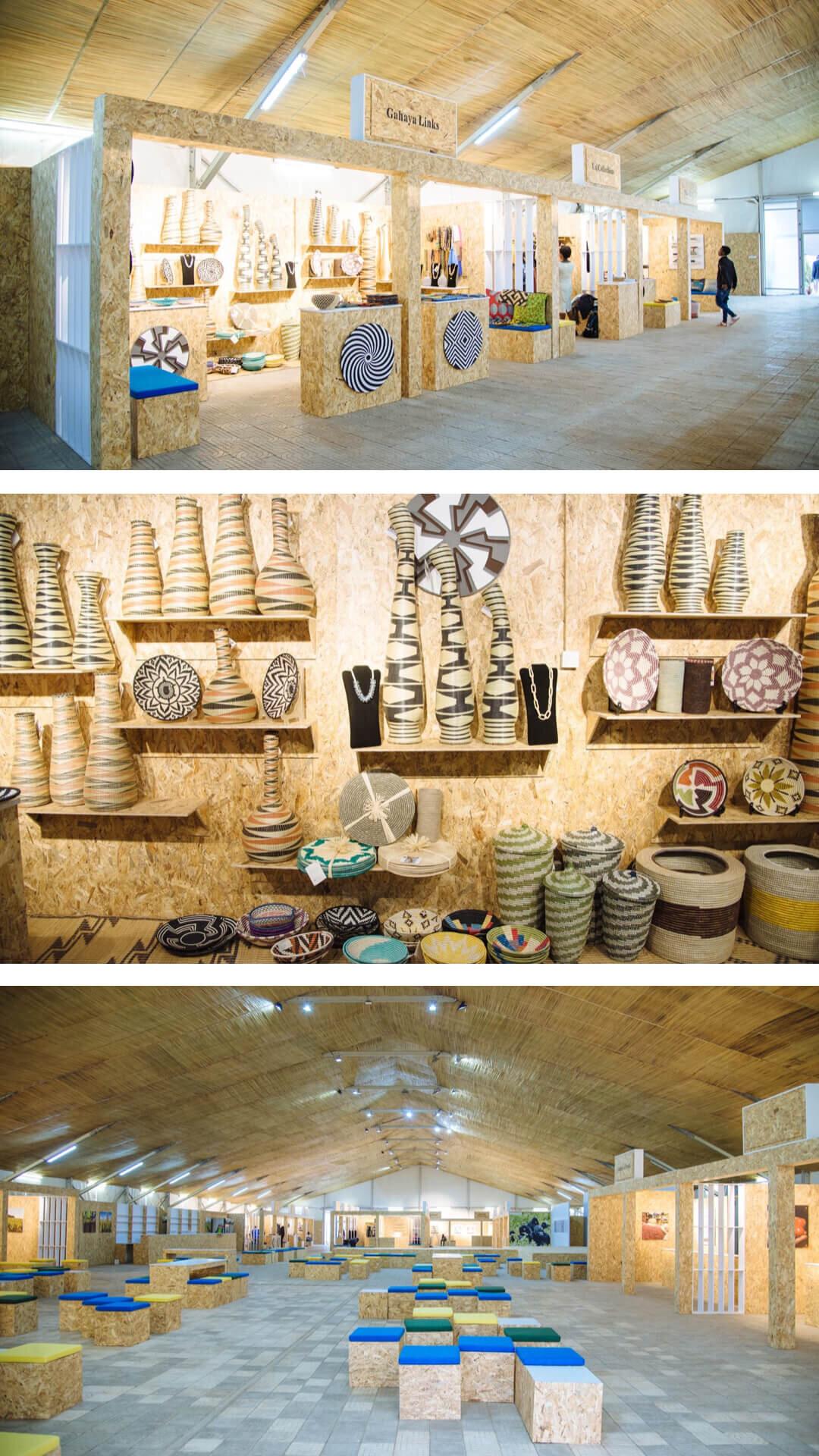23.admire traditional Rwandan crafts at Kigali Cultural Village