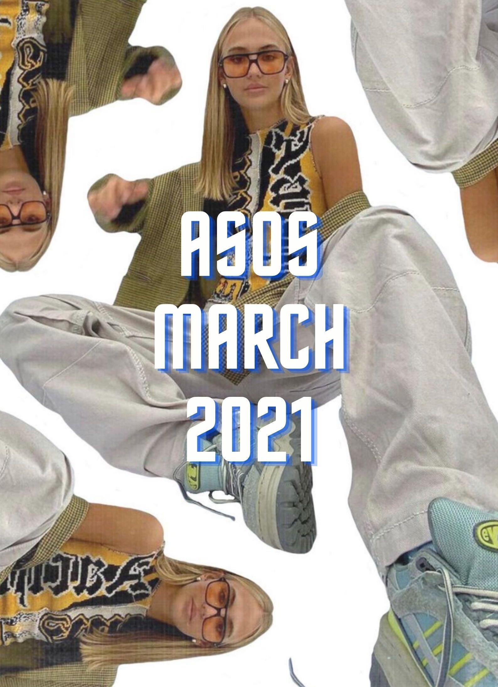 - ASOS:+January 2021 picks: Here. (20 ITEMS)+February 2021 picks: Here. (20 ITEMS)+April 2021 picks: Here. (20 ITEMS)