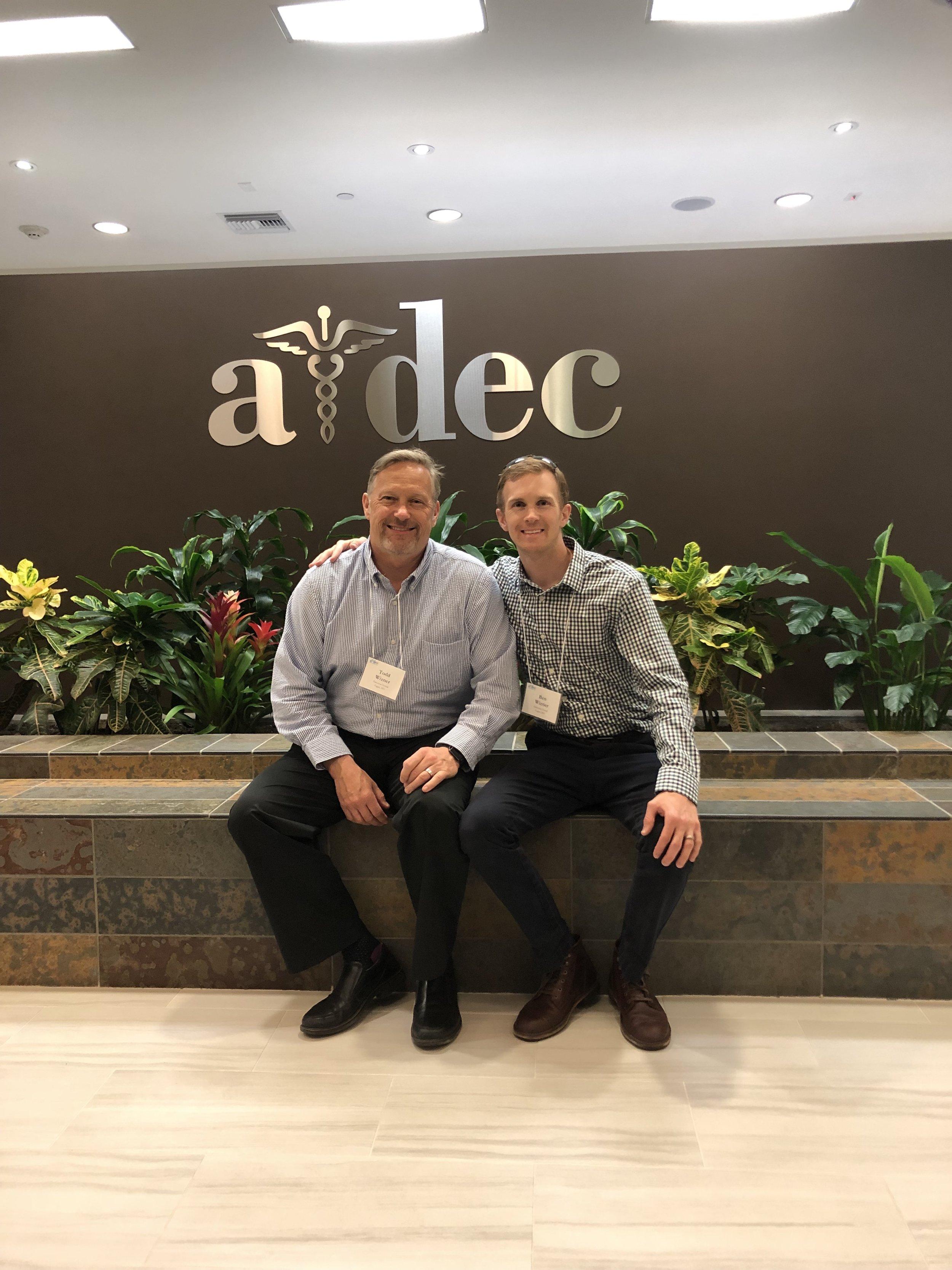 Wiz Guys at A-dec HQ