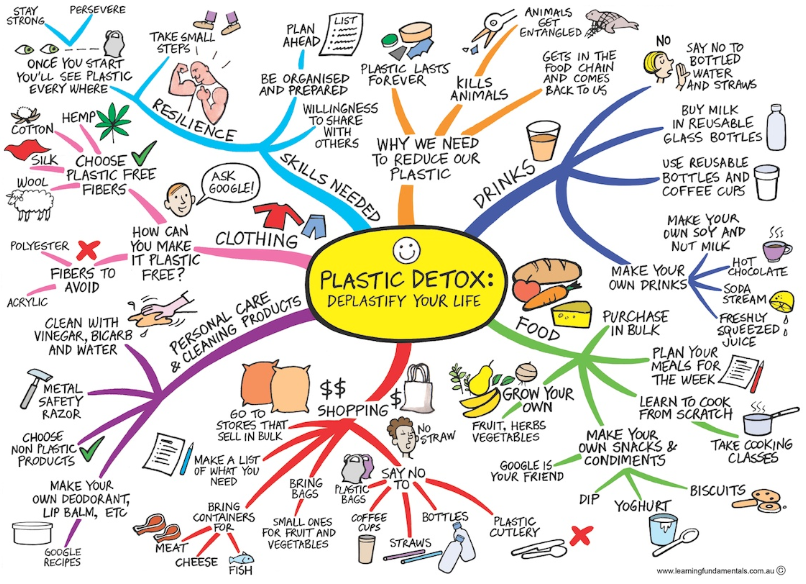The plastic detox by Learning Fundamentals At  https://learningfundamentals.com.au/go-plastic-free-find-your-strength/?mc_cid=832d661102&mc_eid=062faa335f