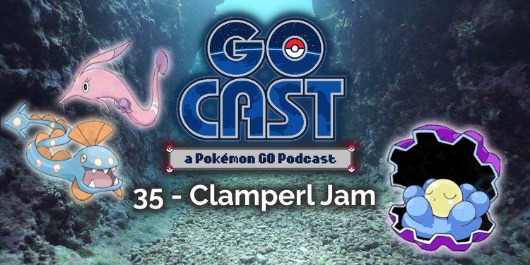 clamperl pokemon go