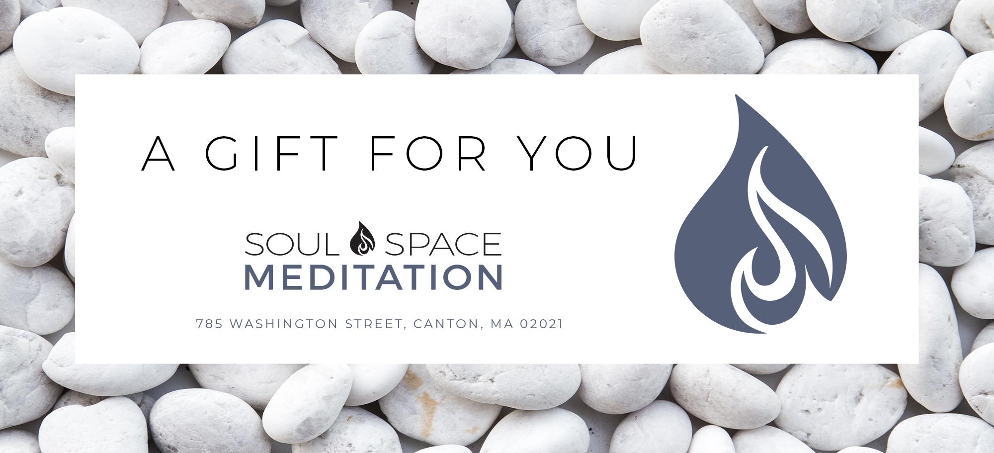meditation gift certificate