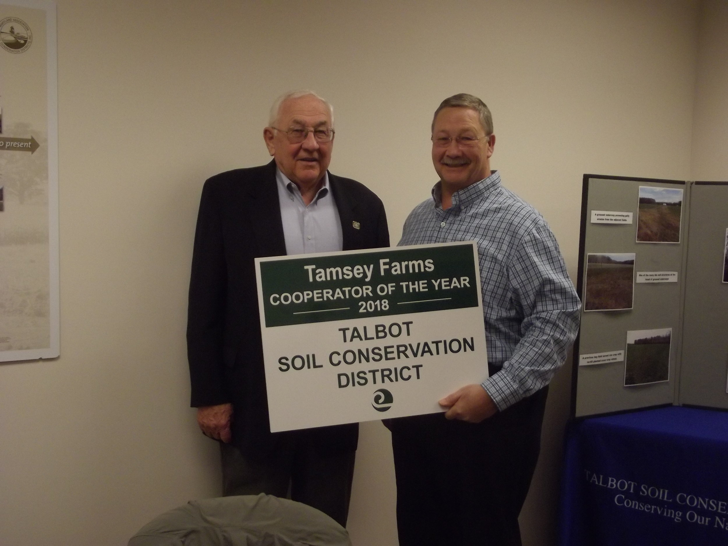 Cooperators Of The Year Talbot Soil Conservation District
