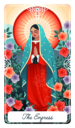 HUMAN DESIGN X TAROT - Gate 27 is represented by The Empress, which is the embodyment of nurturing mother energy.Deck: Fairytale Tarot