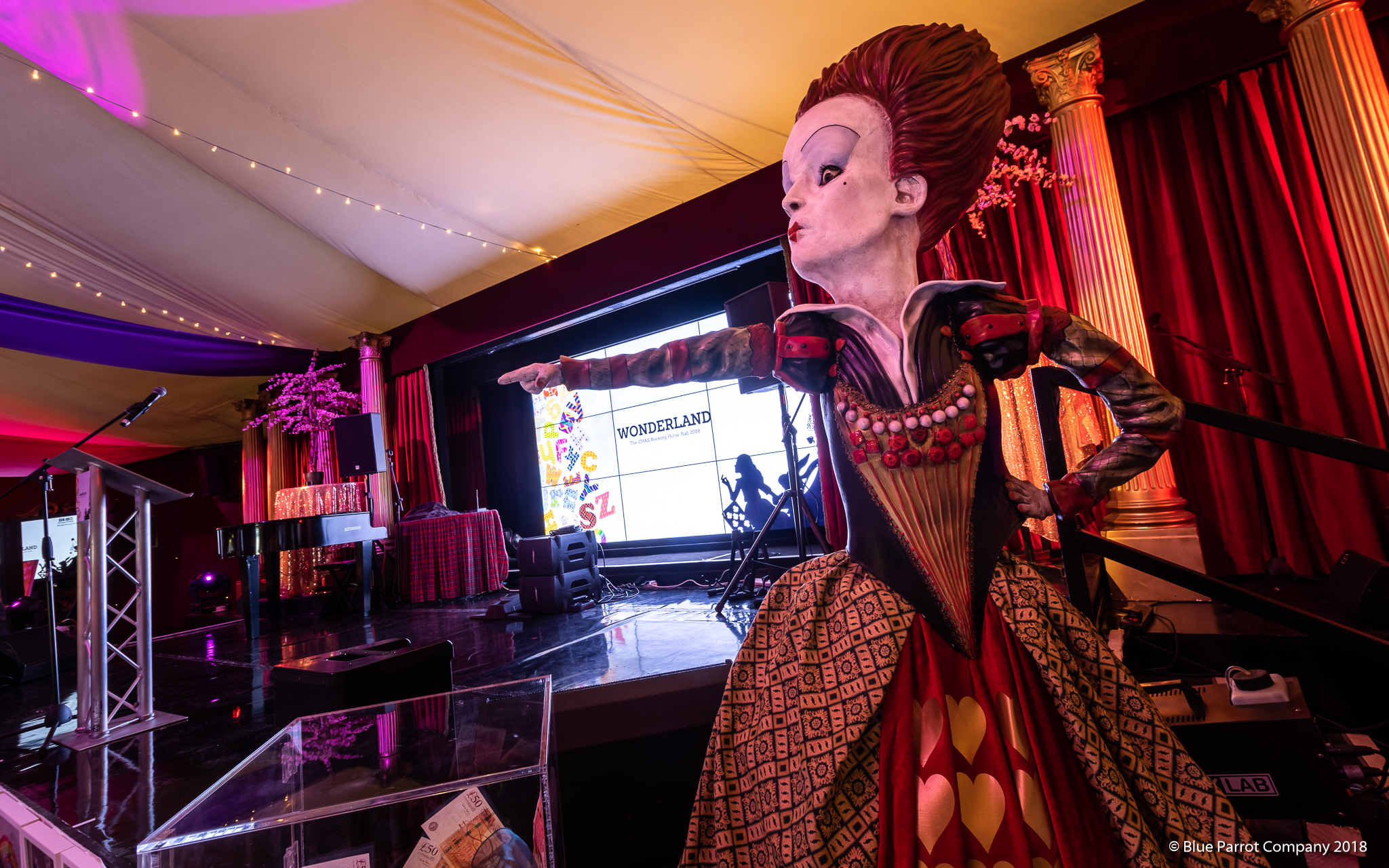 Queen of Hearts at Presonfield Edinburgh