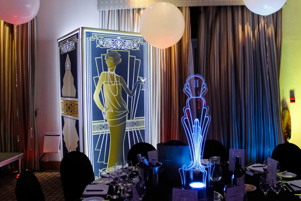 Gatsby themed prop hire Scotland