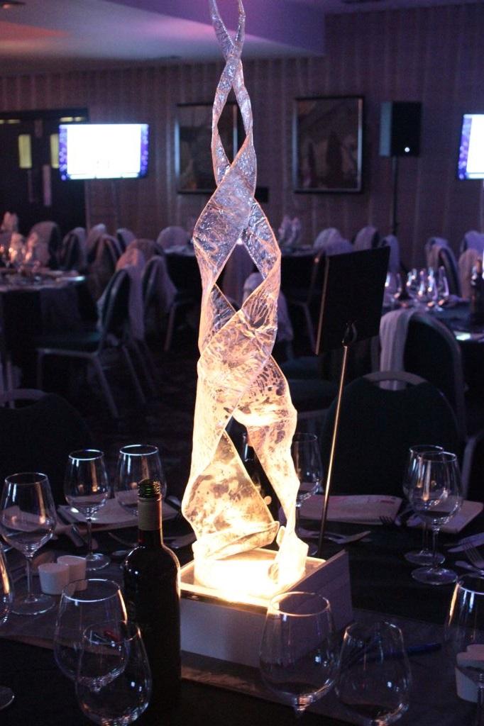 LED Blaze Table Centre