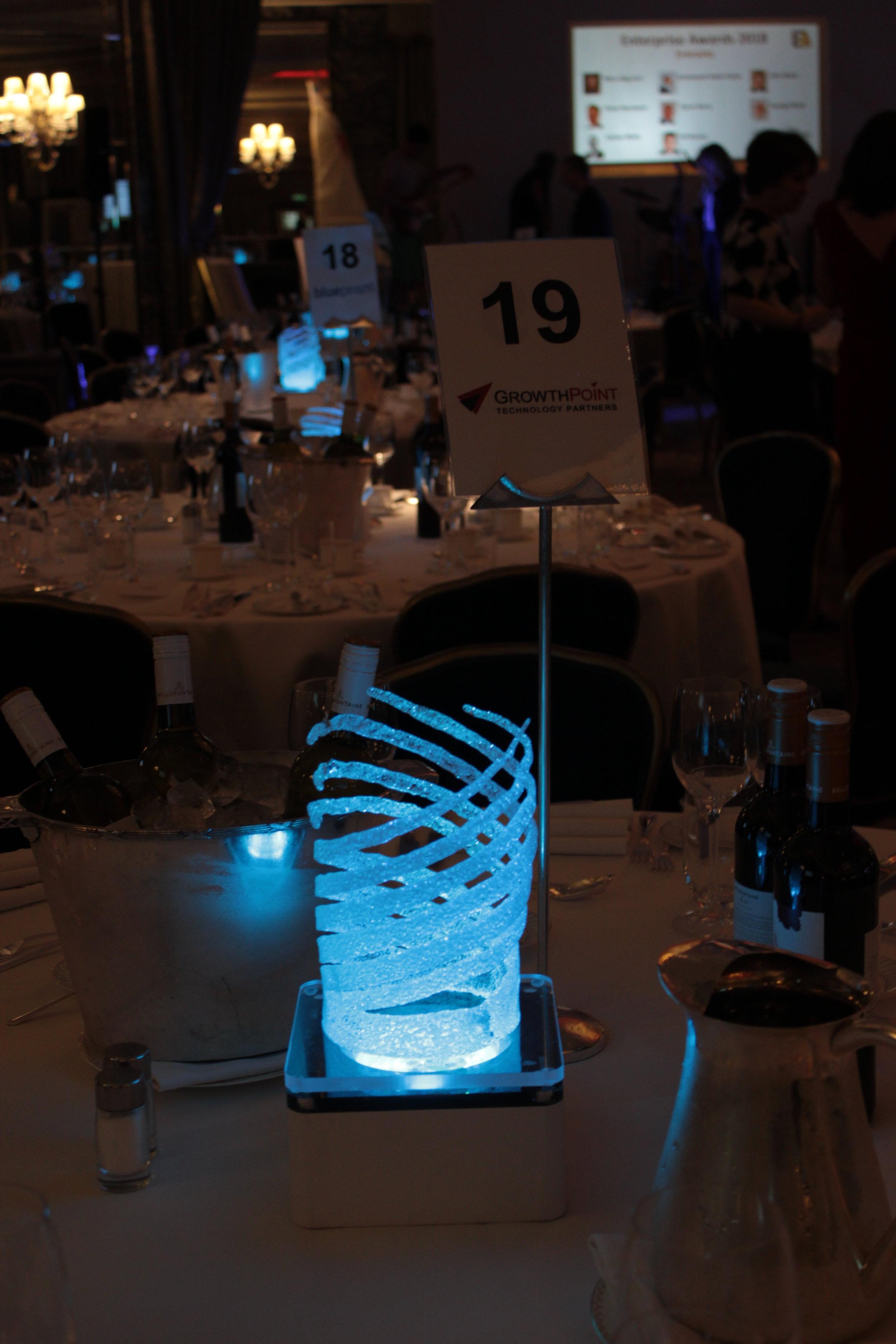 Micro Swirl Table Centre