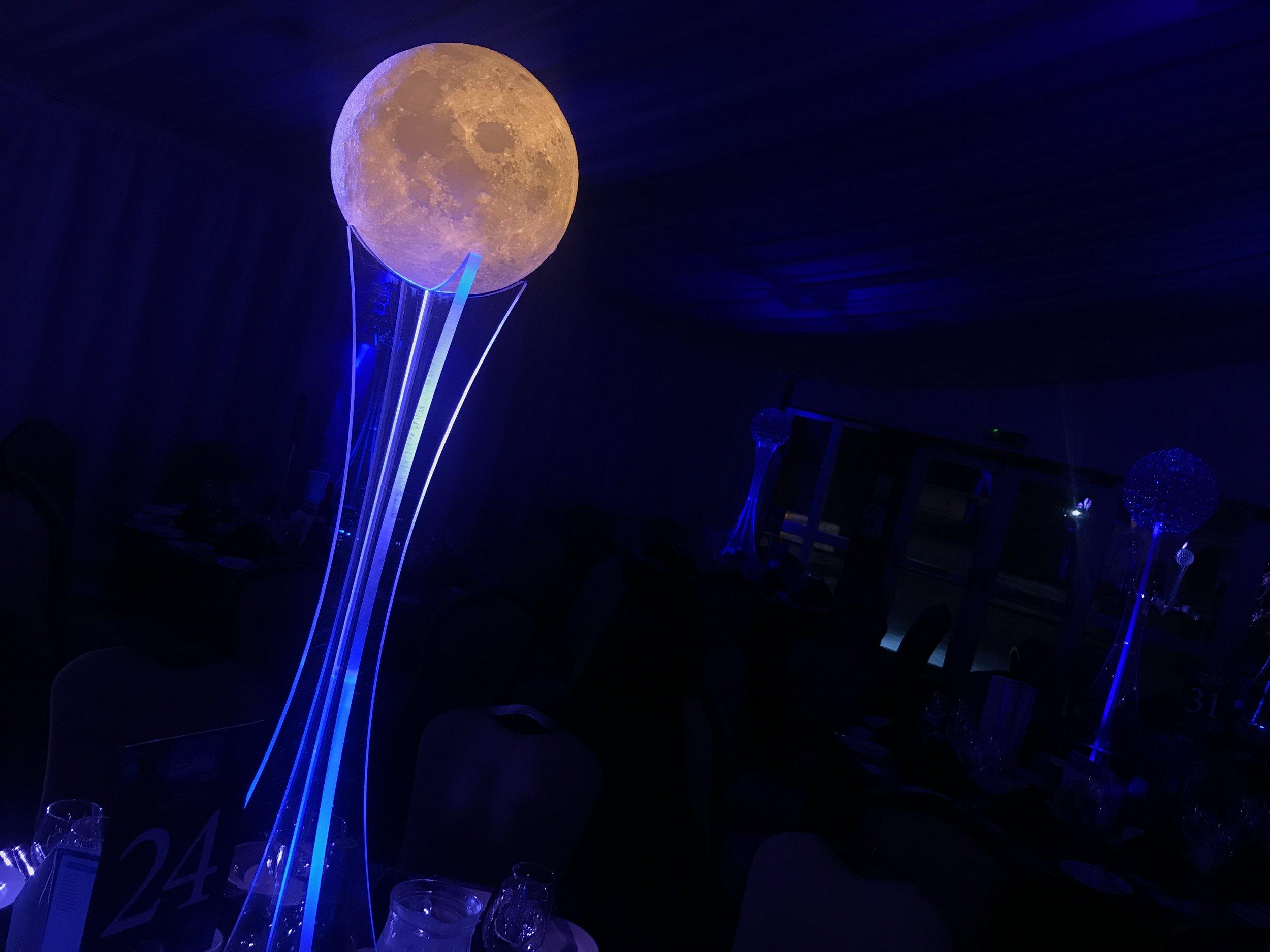 Lunar Glow Table Centre