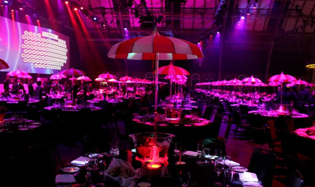 Circus Parasol Table Centre