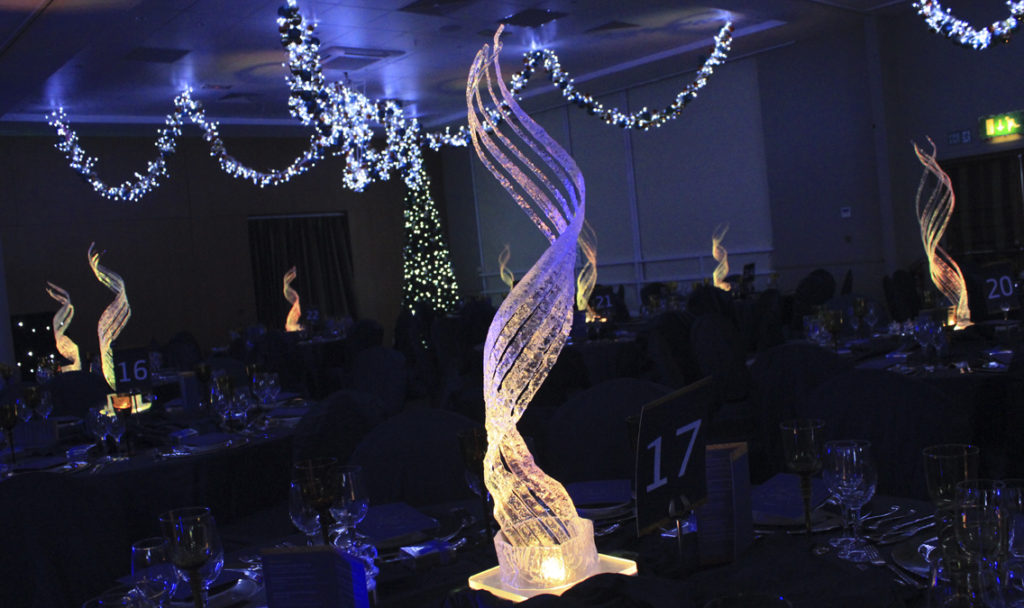 Tall Swirl Table Centres