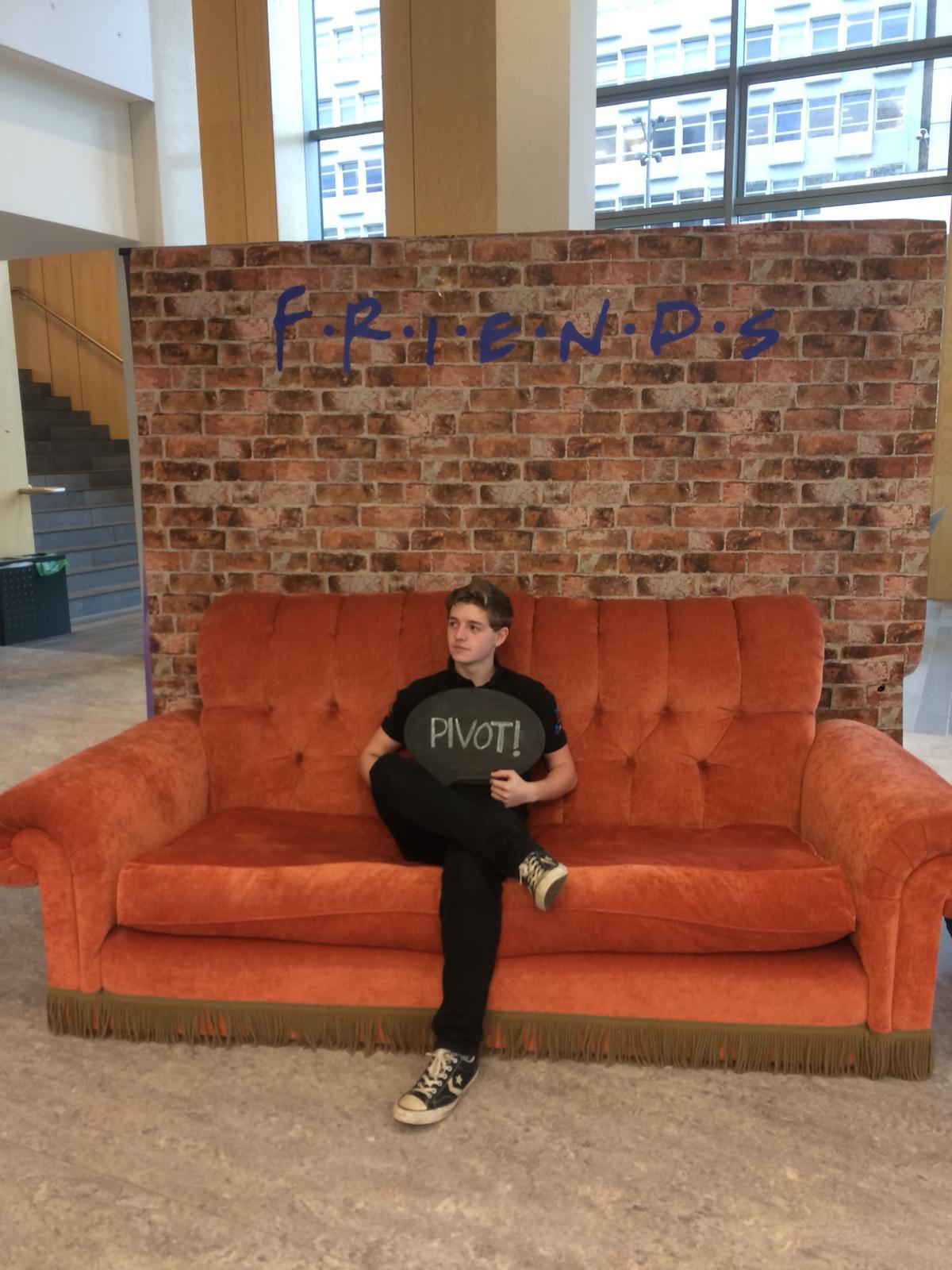 Friends Replica Sofa