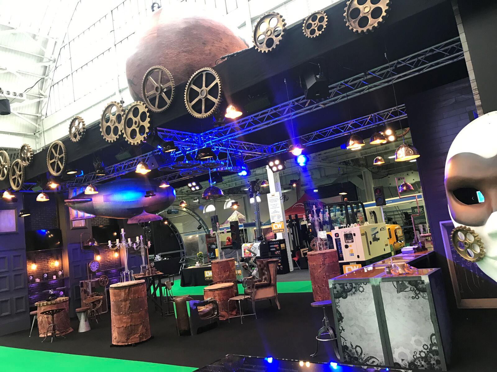 Steampunk Exhibition Stand