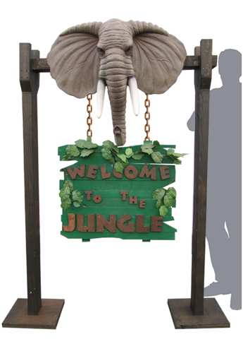 Welcome to the Jungle sign