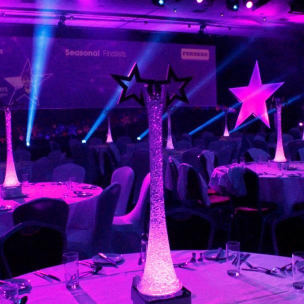 Star Vase Table Centre