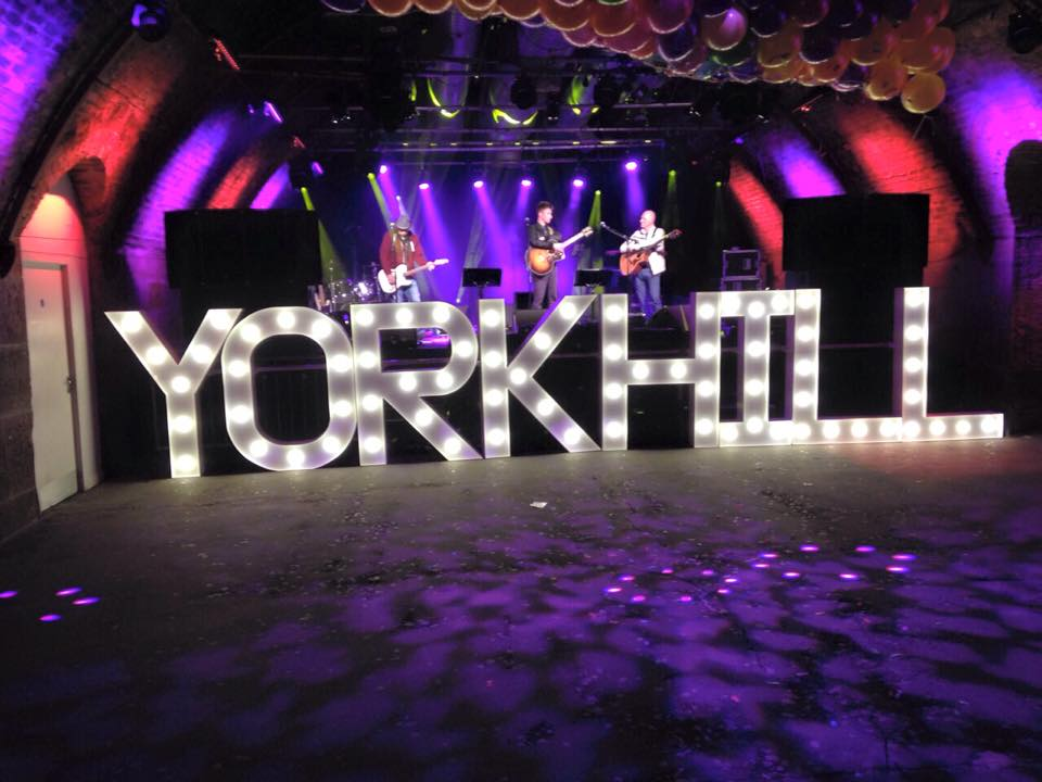 LED Letters for hire Scotland
