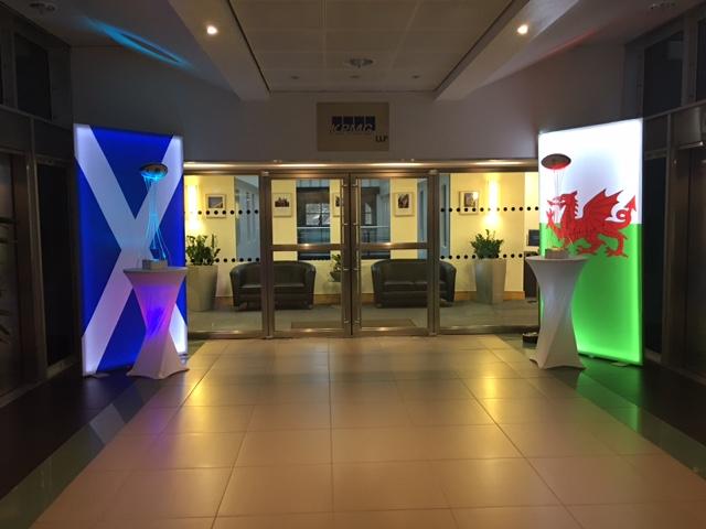Light panels for hire Scotland