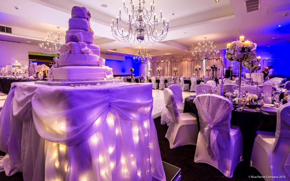 LED Cake Table Skirt