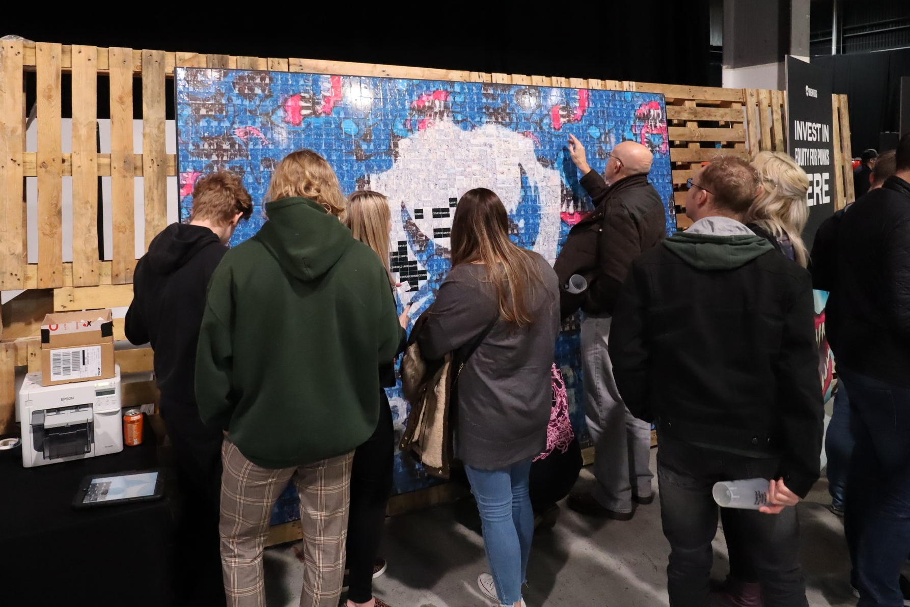 Brew Dog Punk AGM social mosaic