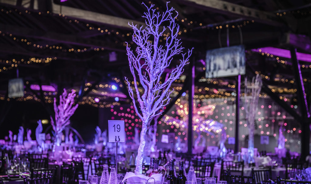 Winter tree Table Centre