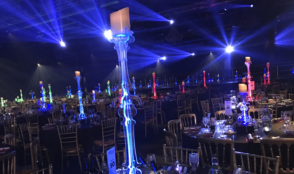 Candlestick Tall Table Centre