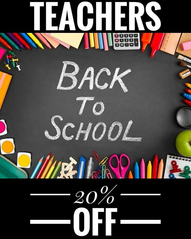 Get ready for the new school year! Take advantage of 20% off haircare services, through the end of September. We at DHS would like to thank you for your dedication!