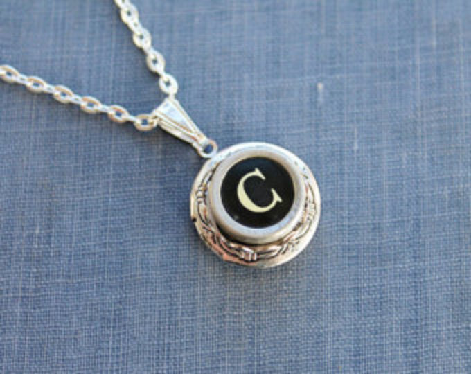 Typewriter Key Long Necklace ~Back Space~