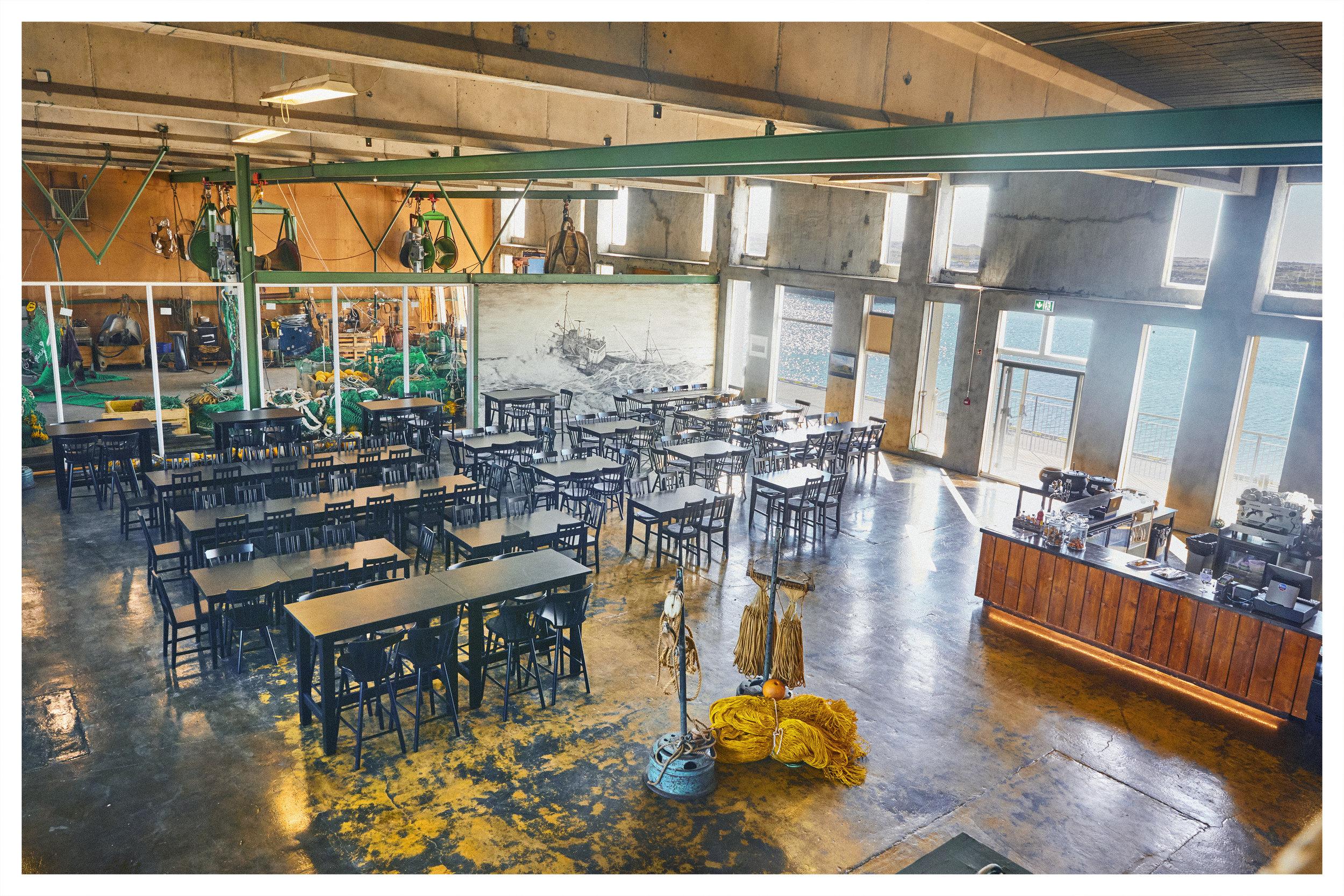 Netagerðin  - The new Netagerðin hall is a spacous hall that can accomodate 230 people.