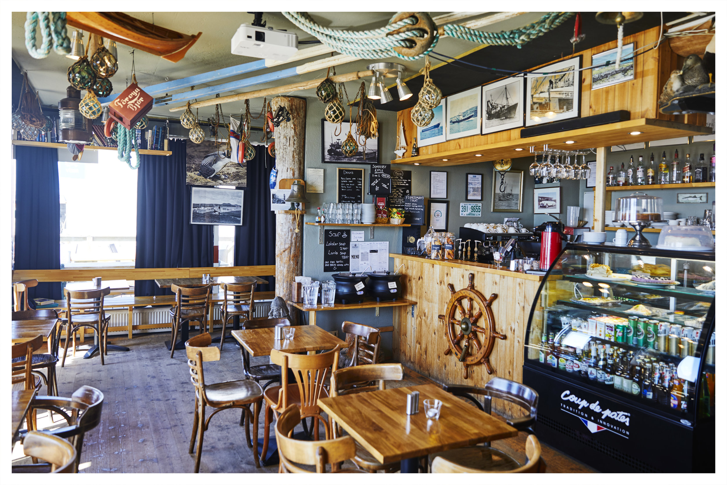 Bryggjan Cafe  - Altough small, this little Cafe has a lot of heart.