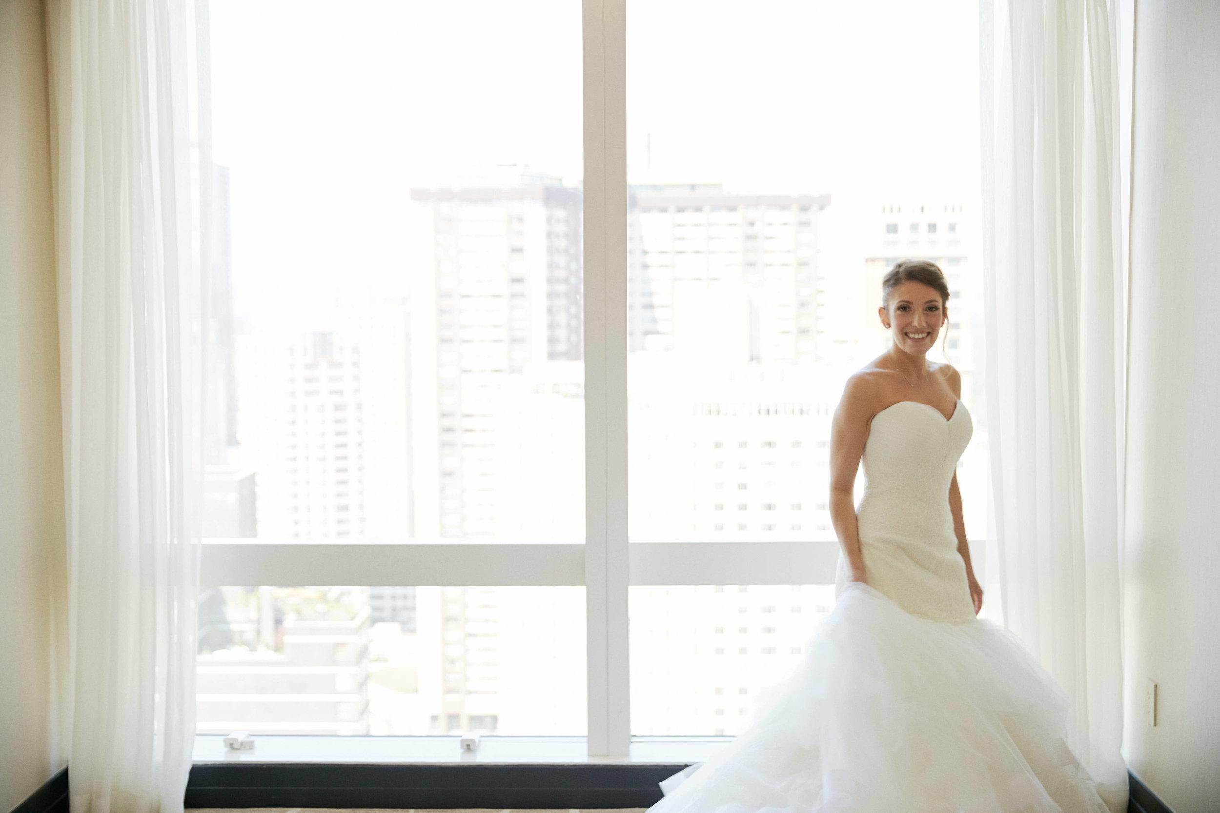 wedding-dress-nyc-wedding-pink-bowtie
