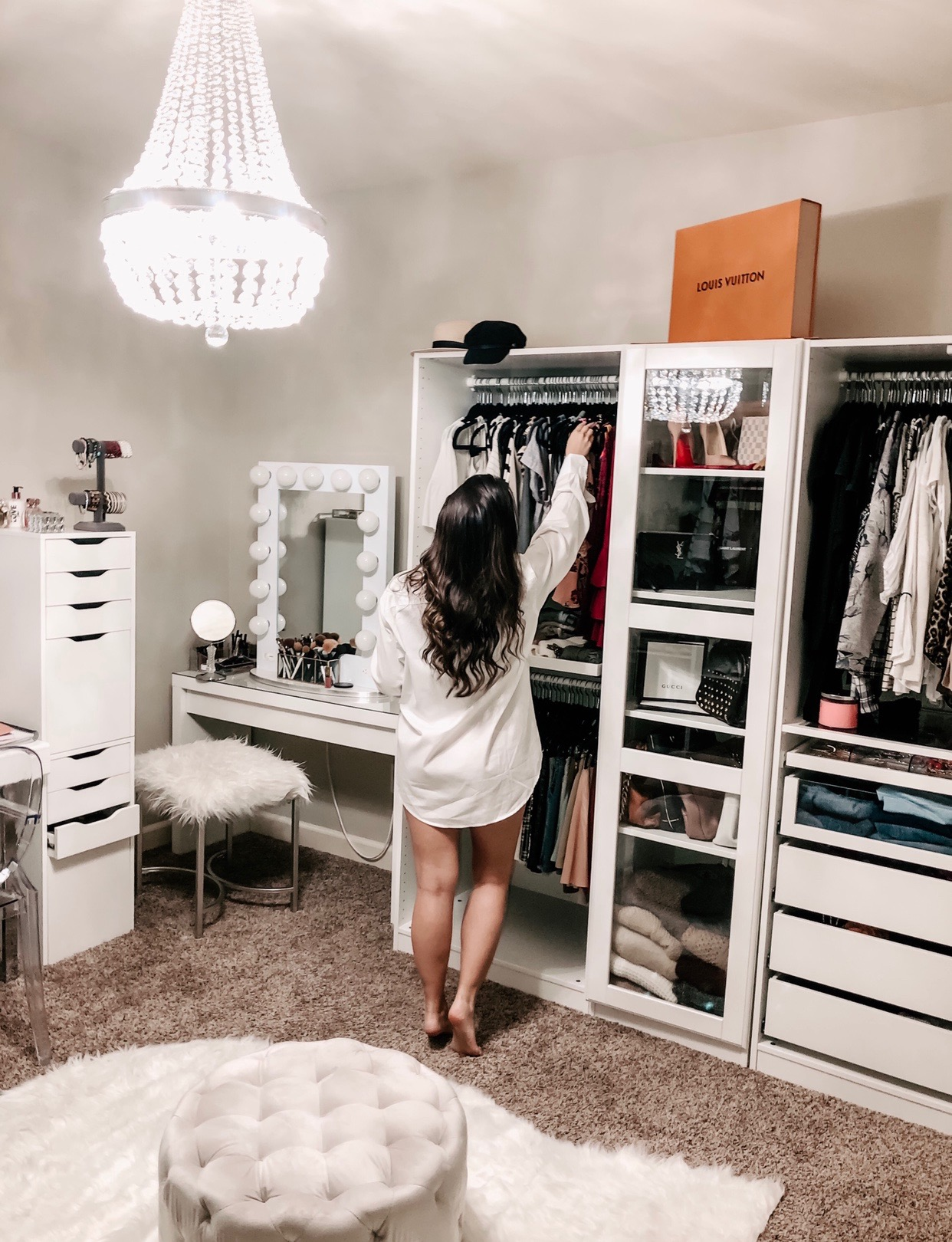 Details Of How I Turned A Bedroom Into My Dream Closet ...