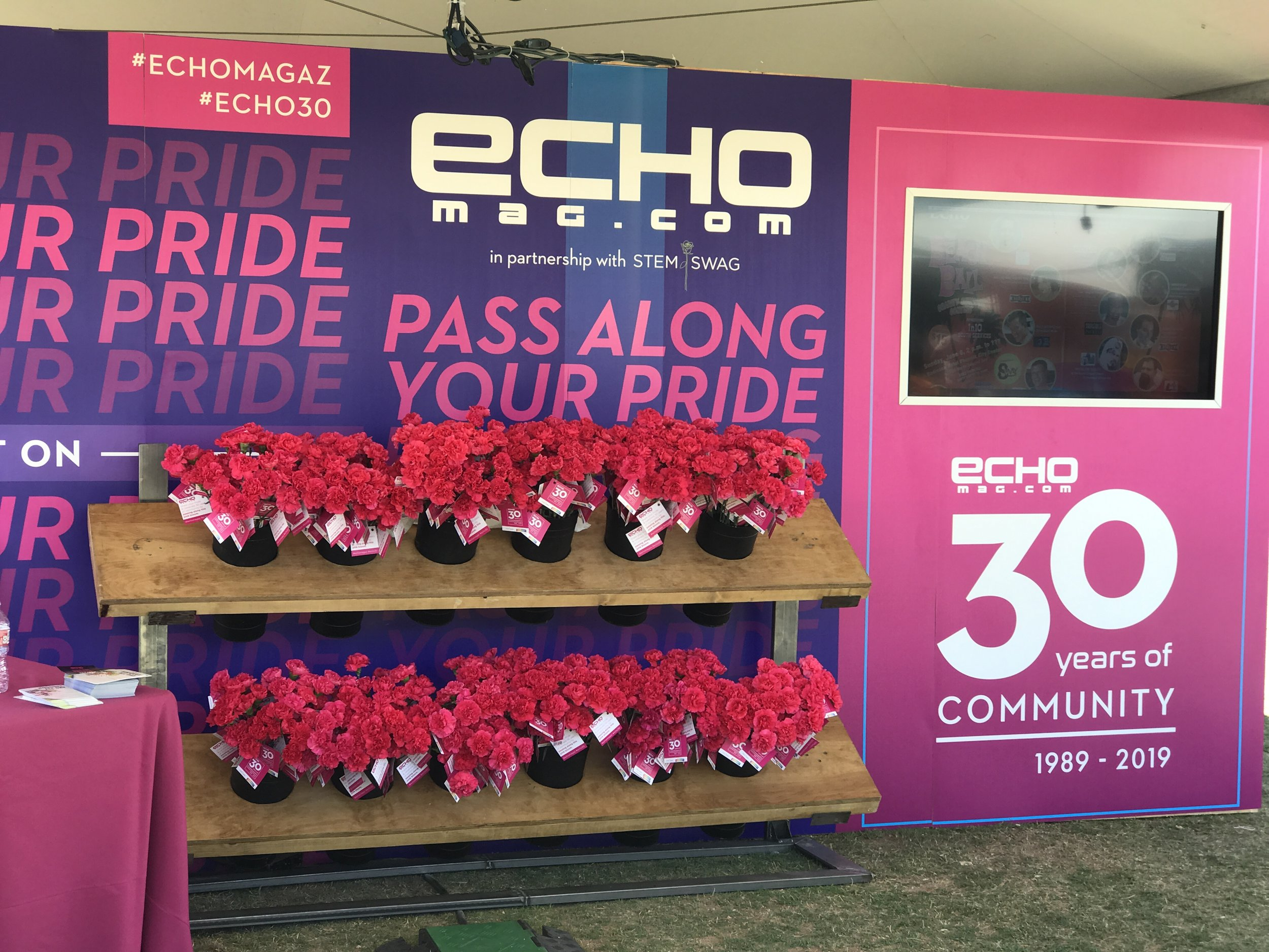 PASS ALONG YOUR PRIDE | ECHO MAG