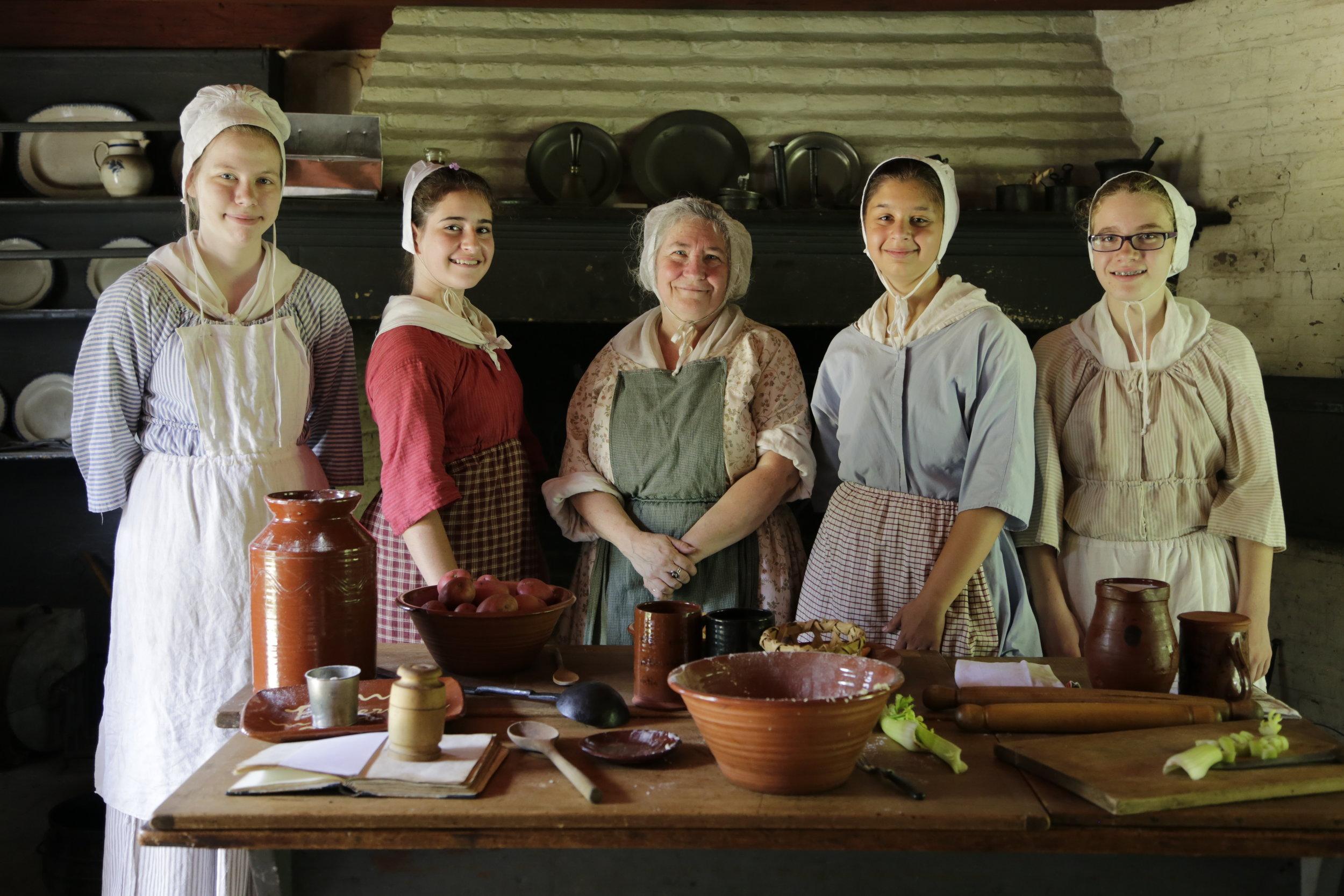 Apprentices in GLT Kitchen.JPG