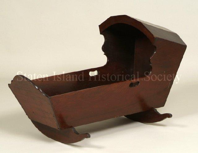 Hooded Cradle, 1780-1820