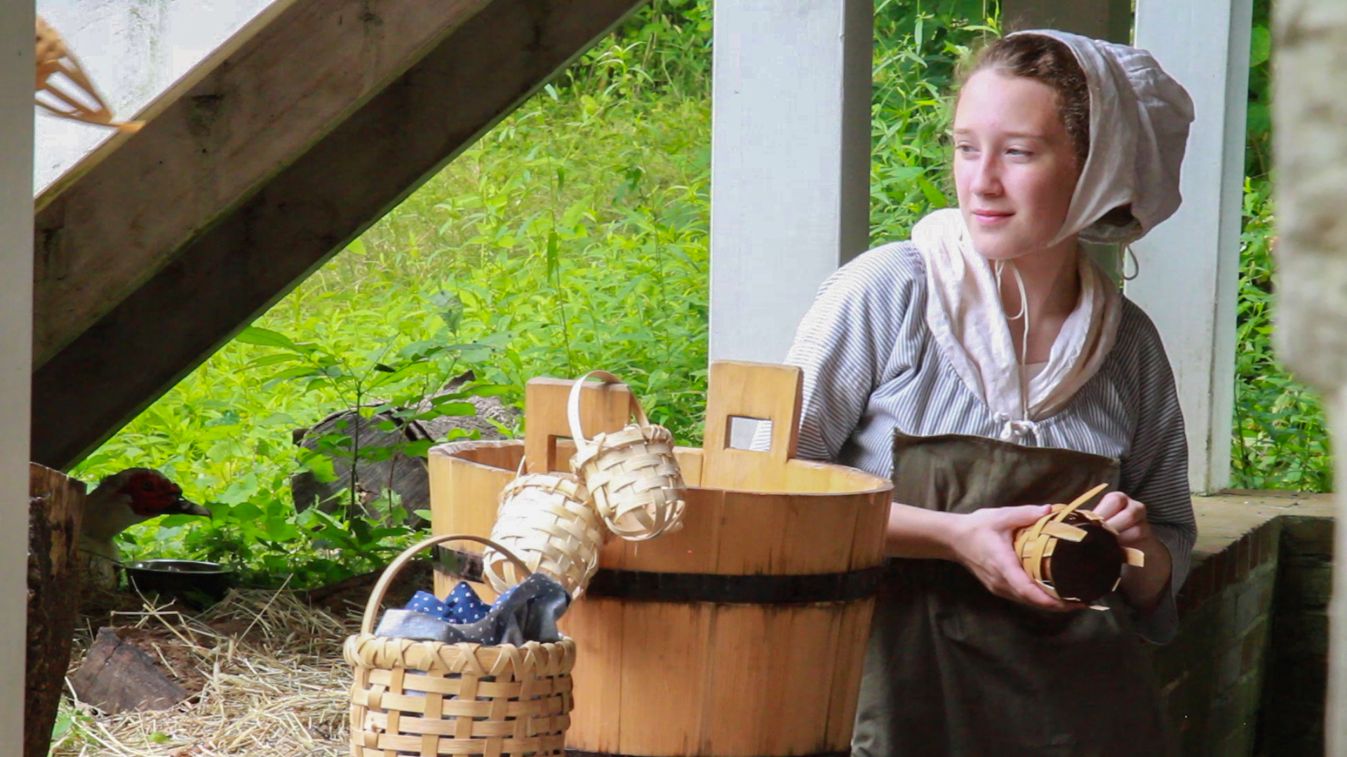 Maria Conte; Basketmaking